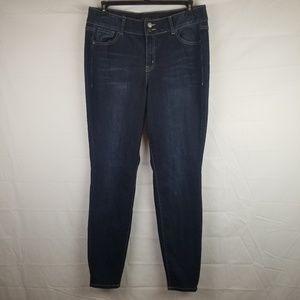 Lane Bryant womens plus 16 long skinny jeans